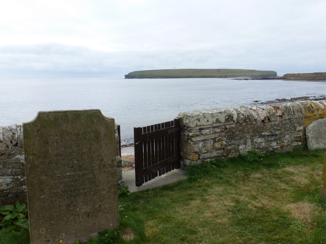 Birsay: gateway from the churchyard to the beach
