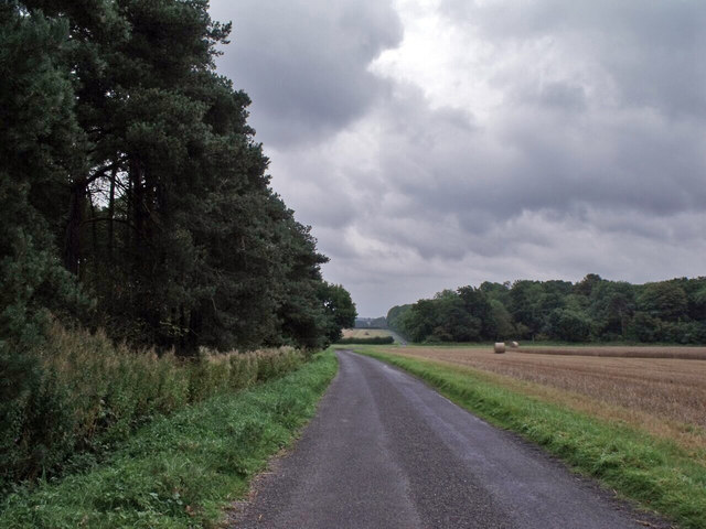 Lane at Toft Hill