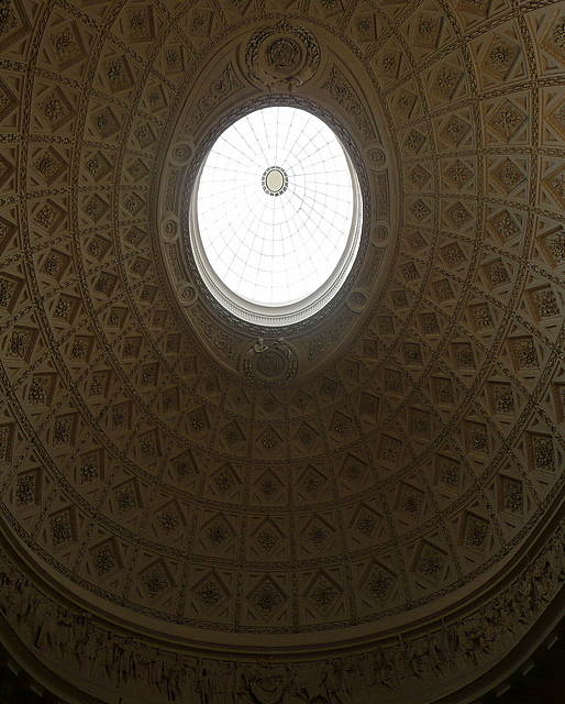 Stowe House, marble hall