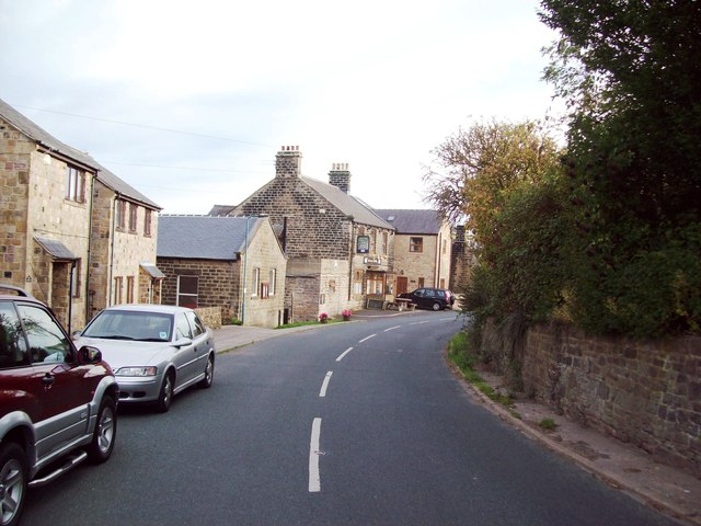 Main Road in Dungworth