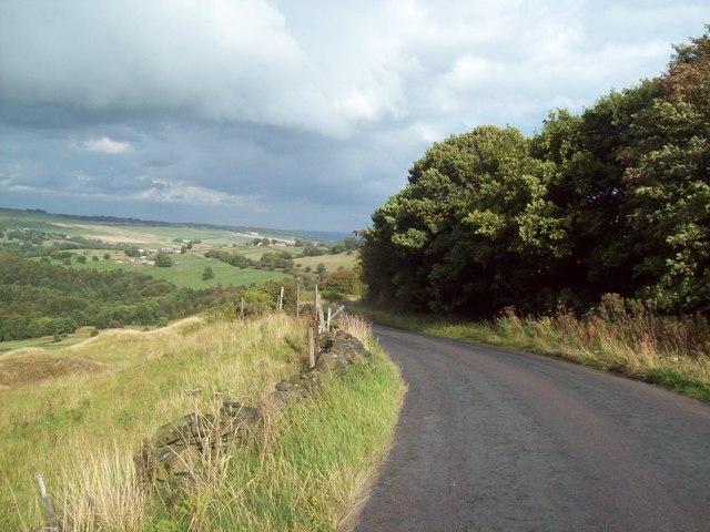 Corker Lane near Ughill
