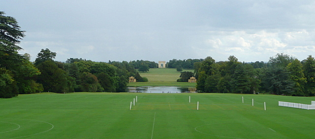 Stowe House, the south vista