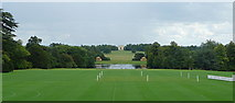 SP6737 : Stowe House, the south vista by Graham Horn