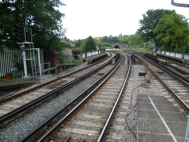 View from Tulse Hill station