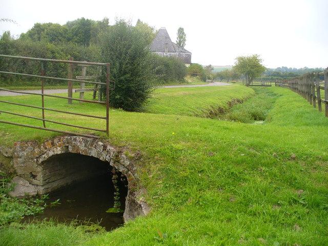 Footbridge by Kiln House