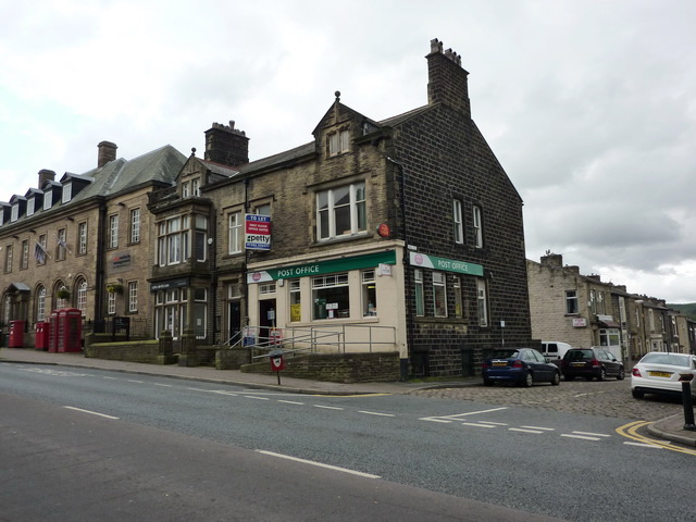 The new Post Office, Albert Road, Colne