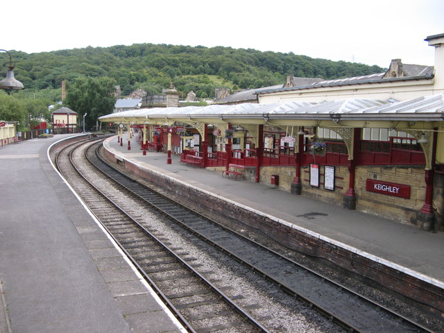 Keighley Station Platforms 3 & 4