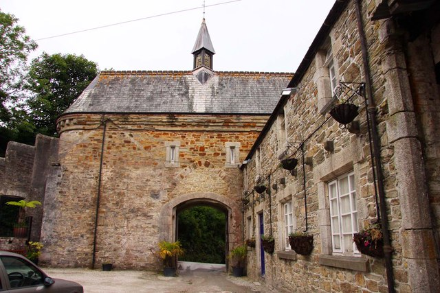 The gate out of Bodmin Gaol
