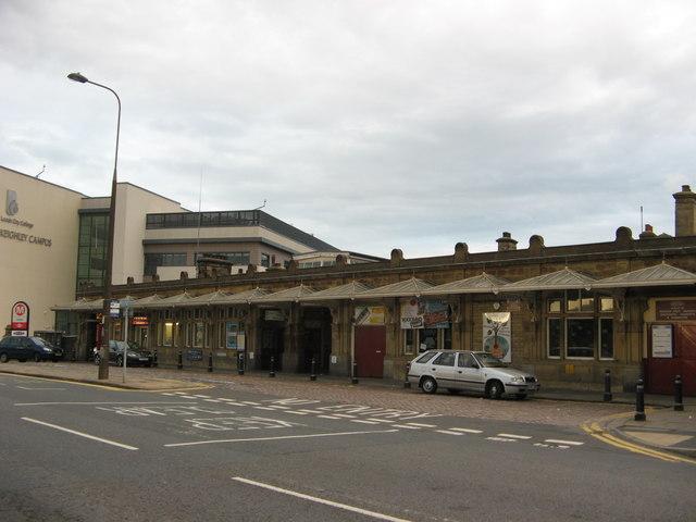 Keighley Railway Station Forecourt