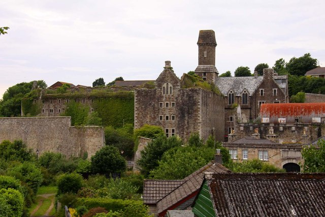 Bodmin Gaol from Cardell Road