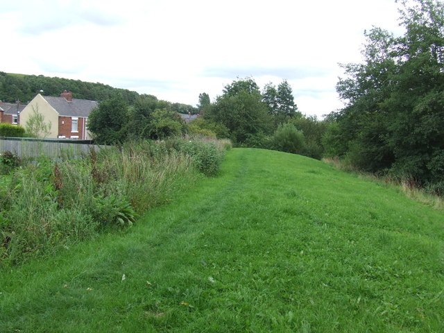 Site of colliery railway, Houghton-le-Spring