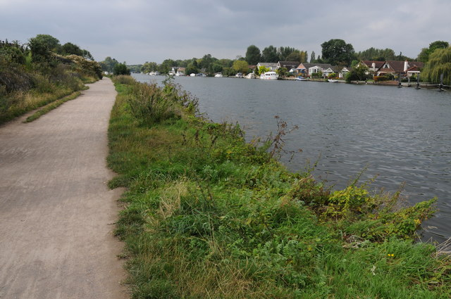 River Thames near Walton-on-Thames