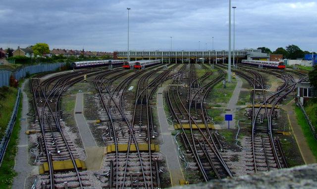 Northfields tube depot