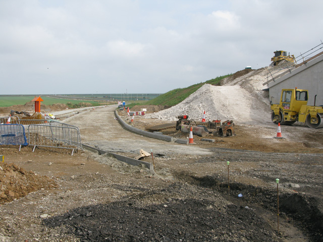 New road from Cottington Road