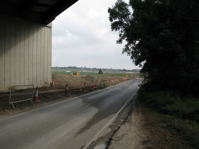 Looking towards Cliffs End from Cottington Road
