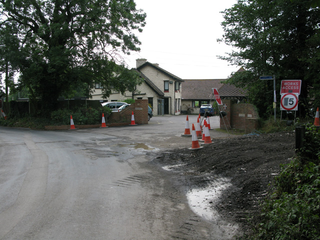 Entrance to St Augustine's golf club on Cottington Road