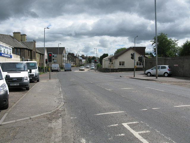Road Junction on the A73, Chapelhall