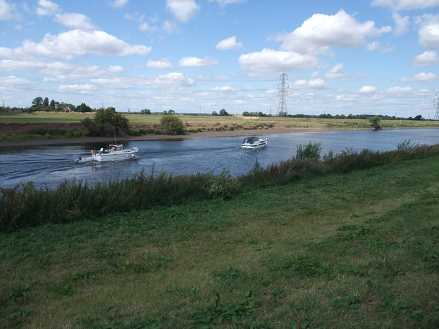 Boats on the Trent