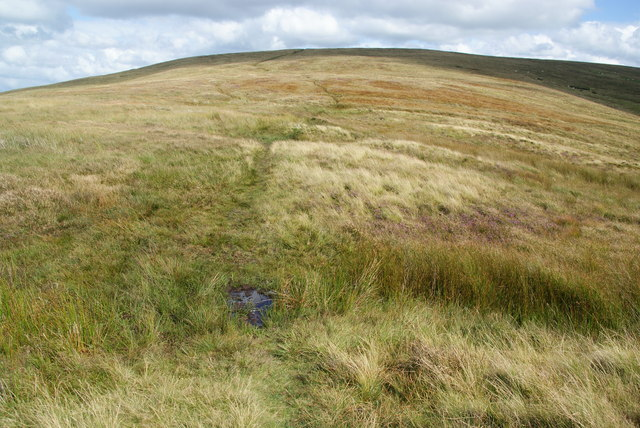 Path up to Carn Bica