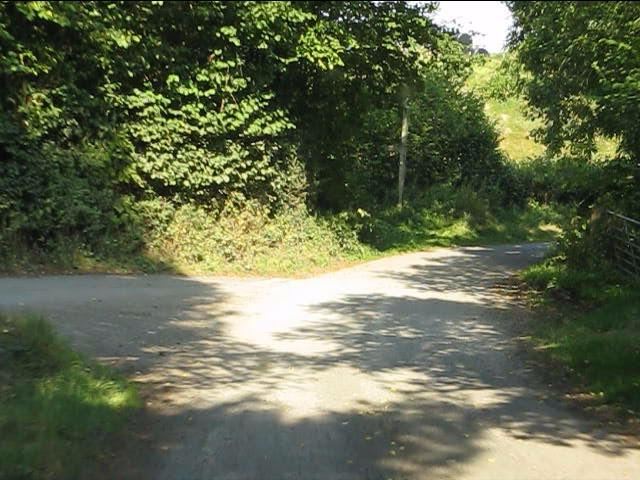 Lane junction west of Lingen