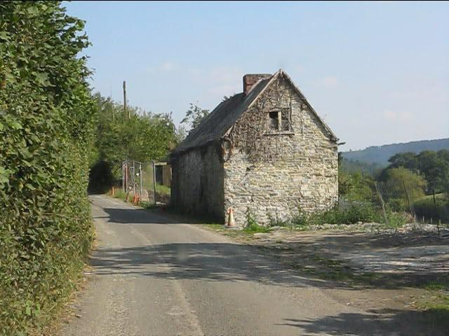 Derelict cottage west of Lingen