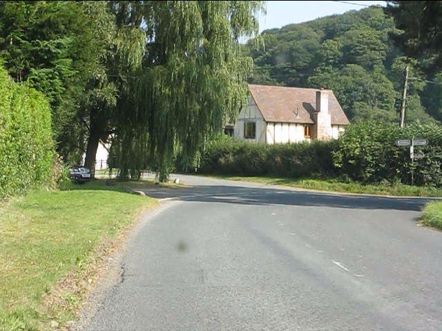 Lane junction in Lingen
