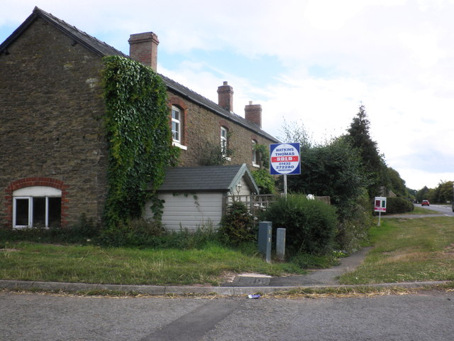 Cottage, on the A49, near King's Thorn