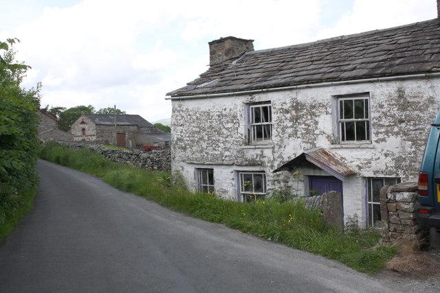 Derelict house in Dentdale
