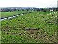 NU2411 : Fields near Alnmouth by Maigheach-gheal