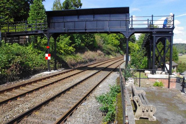 Clare House Lane footbridge