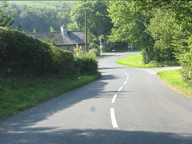 The winding road north from Norton