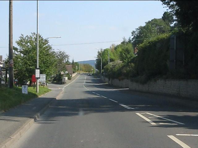 Western entrance to Presteigne