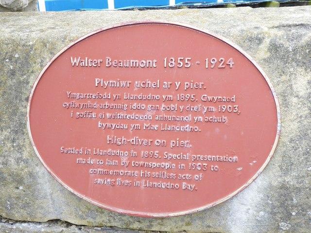 Walter Beaumont  1855 - 1924, Llandudno