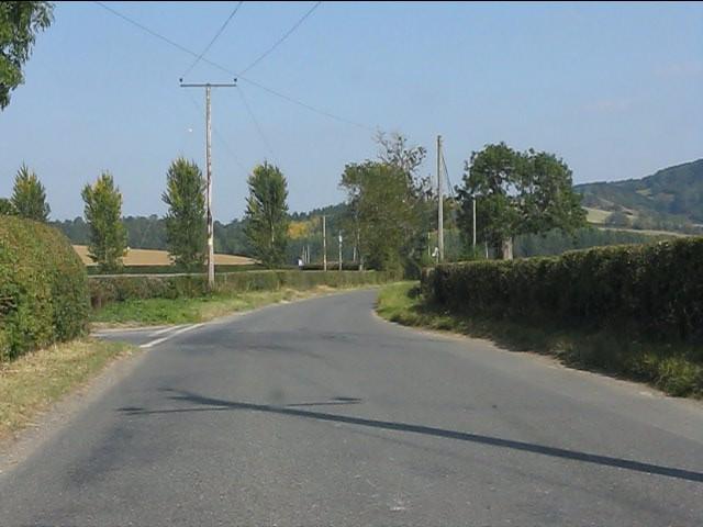 Kinsham Cross junction
