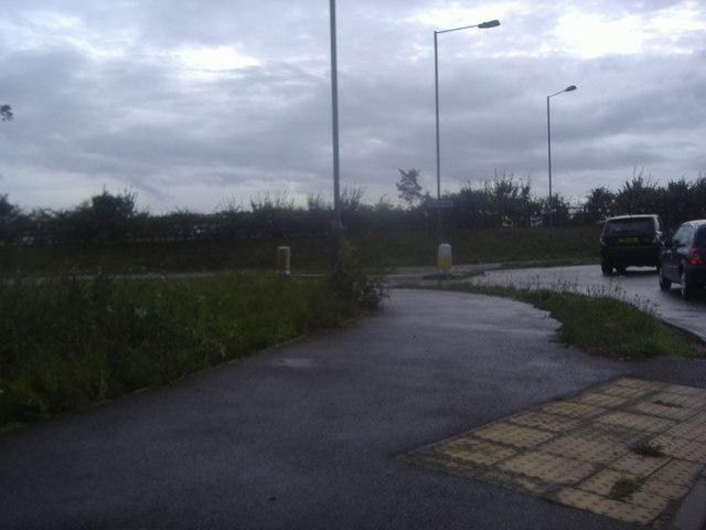 Tandridge Lane roundabout on the A25