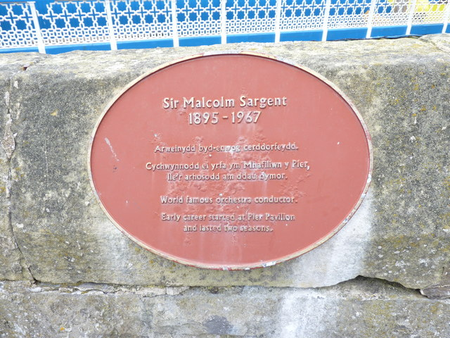 Sir Malcolm Sargent  1895 - 1967, Llandudno