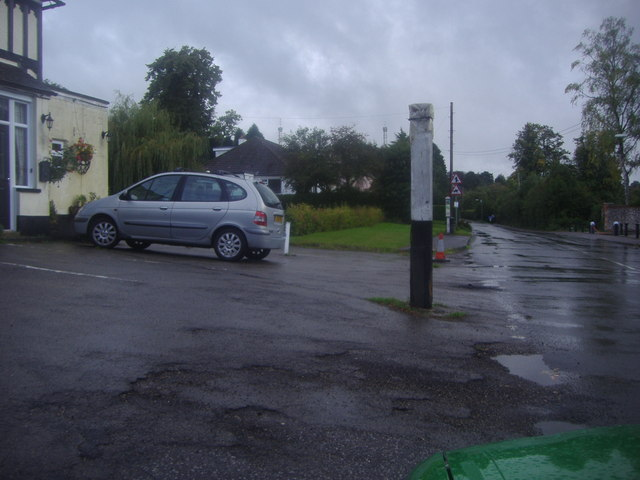 The old pub car park, Main Road Knockholt