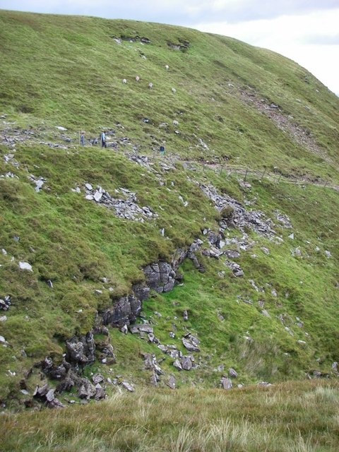 Restricted byway above Cwm Cwnstab