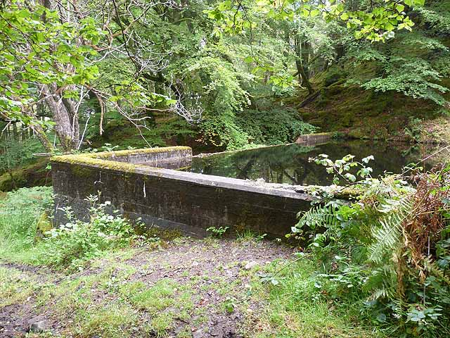 Small reservoir on Ulva
