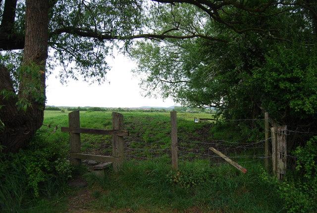 Stile by King's Barn Lane