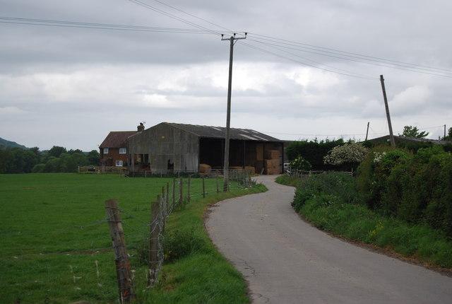 Greenfields Farm access track