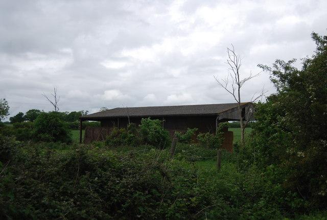 Hay barn by Wyckham Lane