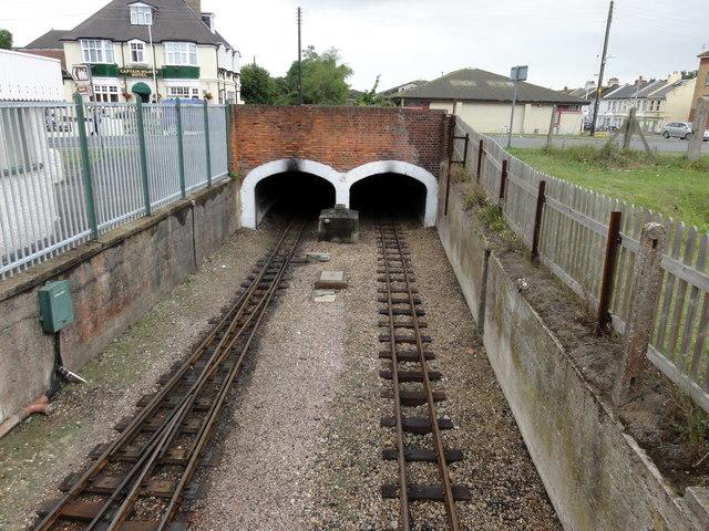 New Romney, RH&DR tunnel