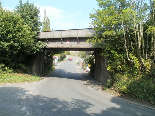 Triley Mill railway bridge