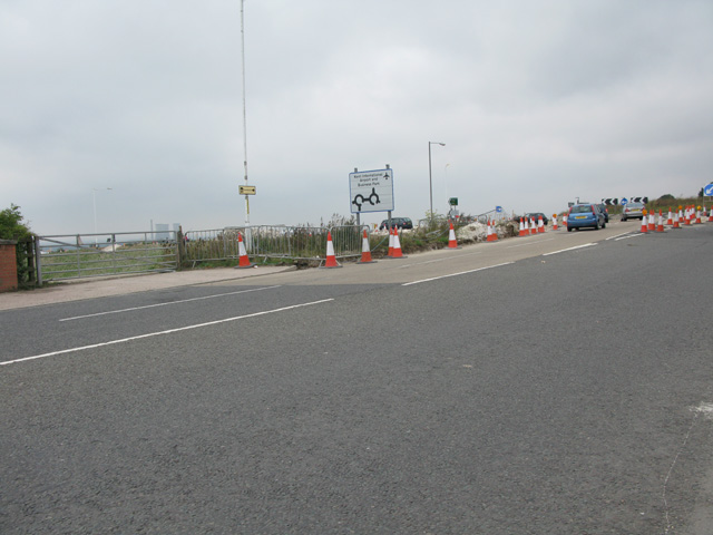 Redevelopment of the Lord of the Manor roundabout