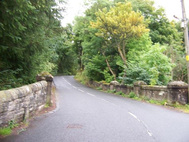Bridge over the Kilhall Burn