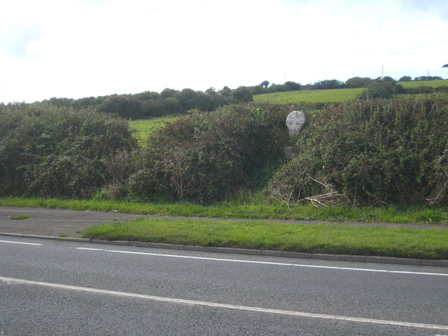 Roadside cross by the A30 north of Crowlas