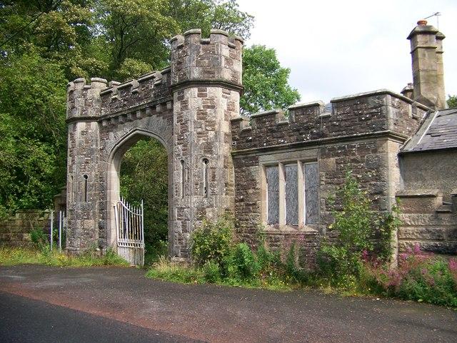 Gatehouse to the former Birkwood Hospital