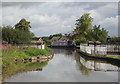 SJ6452 : Canal Aqueduct at Nantwich, Cheshire by Roger  Kidd