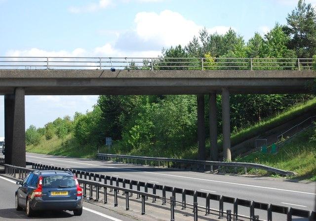Strethall Road bridge, M11